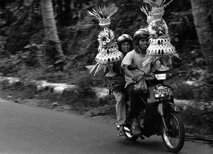 Balinese funeral